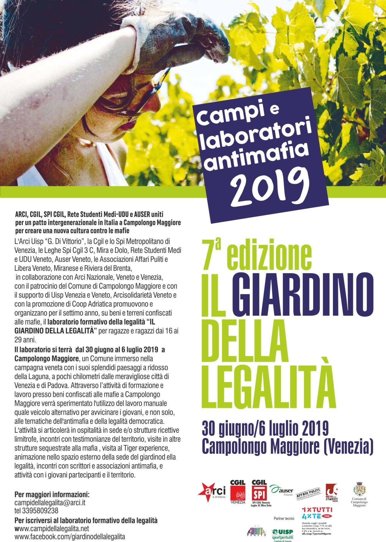 Volantino Campolongo 2019